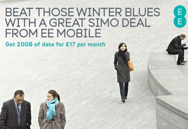 Beat those Winter Blues with this great SIM Only Deal